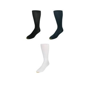 Gold Toe Men's Firm Support Compression Socks (3 Pack) Available in Big & Tall