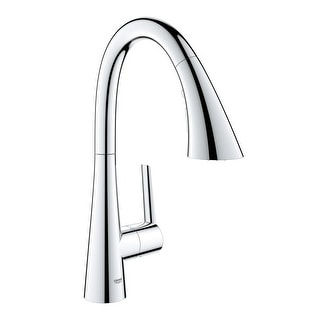 Grohe 30 368 2  Ladylux L2 1.75 GPM Single Hole Pull Out Bar Faucet with SilkMove Technology