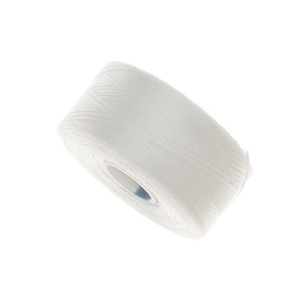 BeadSmith Super-Lon (S-Lon) Thread - Size AA - White (1 Bobbin)
