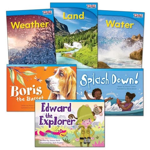 Explore Earth Books - Set of 6