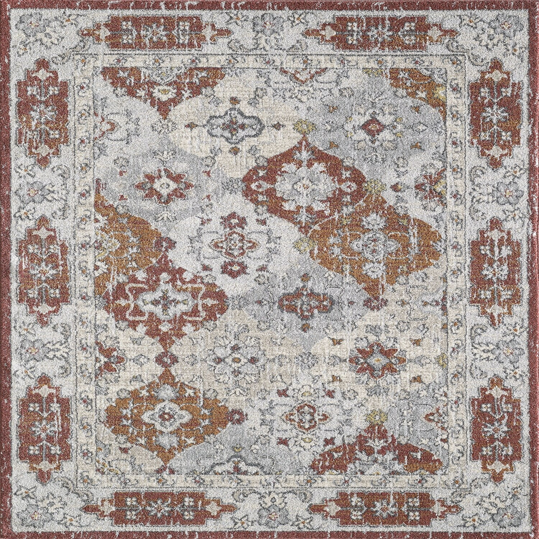 Totti Mosaic Multicolor 9x12 Oriental Rug 9 X12 Rectangular 9 X12 Rectangular Overstock 32108935