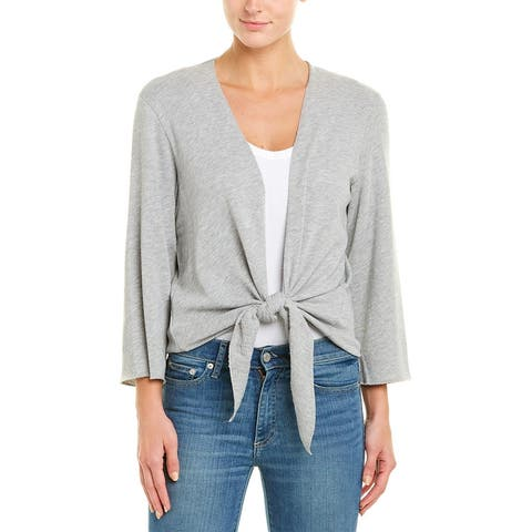 Lilla P Cardigan - HHGY-HEATHER GREY