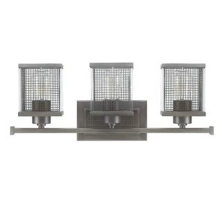 """Donny Osmond Home 8033 3 Light 22"""" Wide Bathroom Fixture from the Carson Collection"""