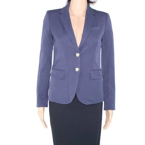 J. Crew Women's Blazer Replica Blue Size 4 Schoolboy Single Button