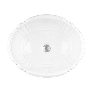 "PROFLO PF1125 17-1/4"" Self Rimming Bathroom Sink"