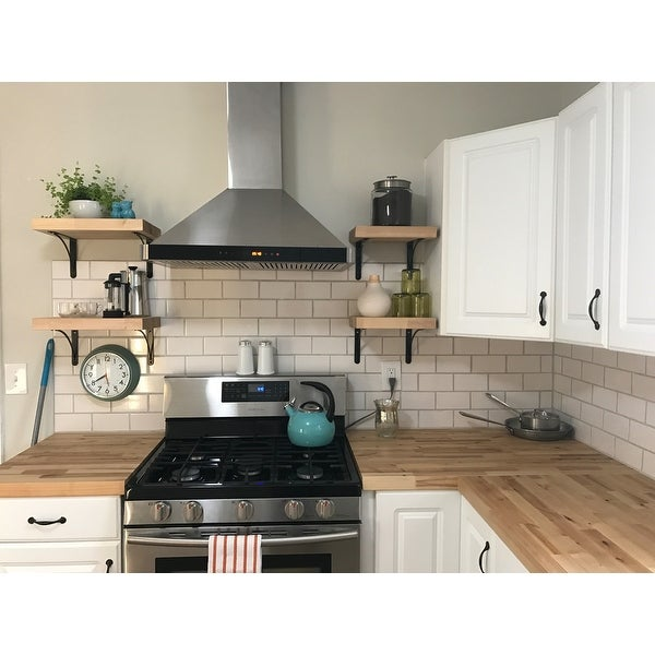 Shop AKDY 30-inch Wall-mount Stainless Steel Kitchen Vent Range Hood ...