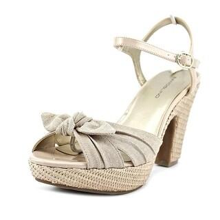 Bandolino Mariomisa Open Toe Synthetic Platform Sandal