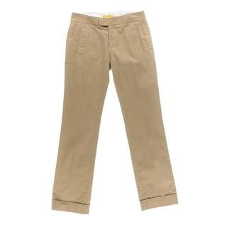 Catherine Malandrino Womens Twill Cuffed Casual Pants - 4