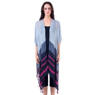 Mad Style Grey One Size Summer Duster