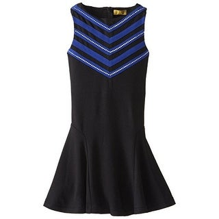 Nicole Miller Girls Embellished Sleeveless Special Occasion Dress