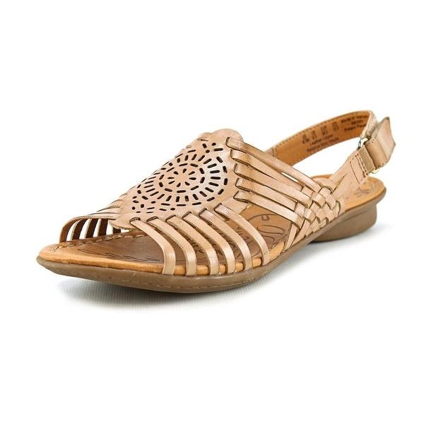 Naturalizer Wendy W Open-Toe Leather Slingback Sandal