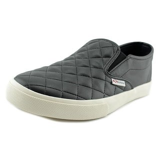 Superga 2311 Quilted Women Round Toe Synthetic Black Sneakers