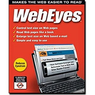 Avanquest 6900 WebEyes 2.2 - Makes the Web Easier to Read