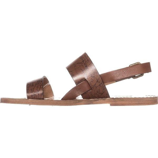 Patricia Nash Womens Elda Leather Open Toe Casual Strappy Sandals