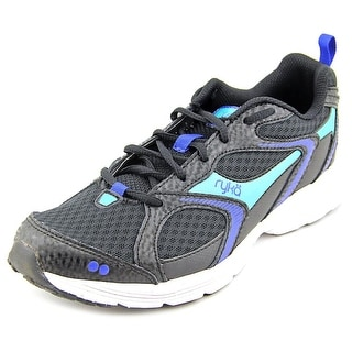 Ryka Streak Women  Round Toe Synthetic Black Running Shoe