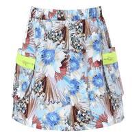 Richie House Girls' Neon Zipper Skirt