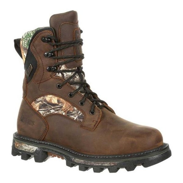 ac11a0741 Rocky Men  x27 s BearClaw FX 800G Insulated WP Outdoor Boot RKS0396  Realtree Edge