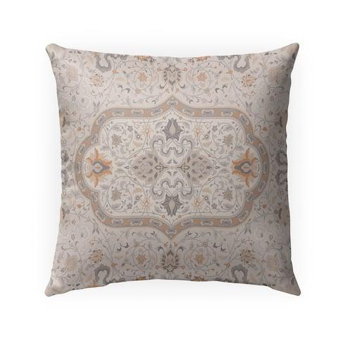 EMPIRE BEIGE Indoor-Outdoor Pillow By Marina Gutierrez