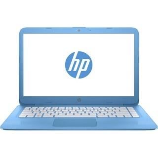 "Manufacturer Refurbished - HP 14-ax004la 14"" Laptop N3050 1.60GHz 4GB RAM 32GB eMMC WIN10"