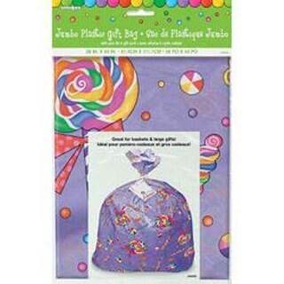 "Candy Party - Jumbo Plastic Gift Bag 44""X36"""