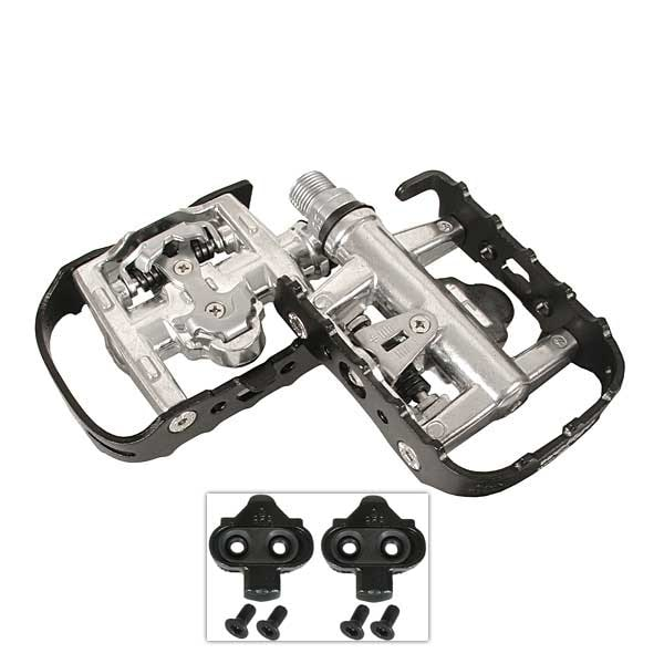 Wellgo WPD-95B Reversible Platform Clipless Pedals - Black Sealed