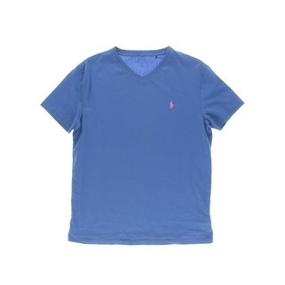 Polo Ralph Lauren Mens Cotton V-Neck T-Shirt