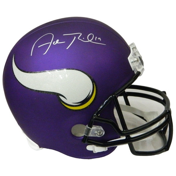 4b0d20a79a5 Shop Adam Thielen Minnesota Vikings Riddell Full Size Replica Helmet - Free  Shipping Today - Overstock.com - 22175336