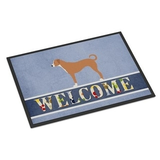 Carolines Treasures BB8290MAT Australian Pinscher Welcome Indoor or Outdoor Mat - 18 x 27 in.