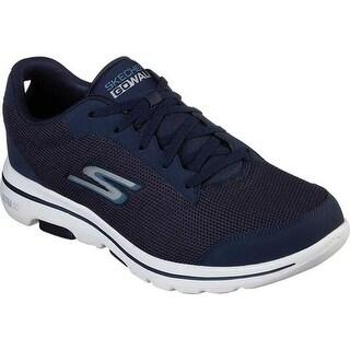 Skechers Men's GOwalk 5 Sneaker Navy/Blue