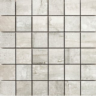 Emser Tile F72RANC1212MO2  Ranch - Square Mosaic Floor and Wall Tile - Textured Wood Visual