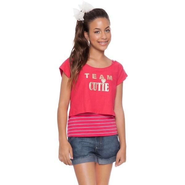 Tween Girl Graphic Crop Top Shirt and Tank Top Kids Pulla Bulla 10-16 Years