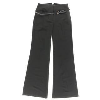 XOXO Womens Dress Pants Knit Belted - 5/6