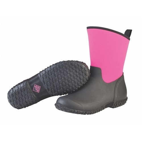 Muck Boot's Womens Muckster II Mid Boots w/ Breathable Airmesh Lining - Size 8