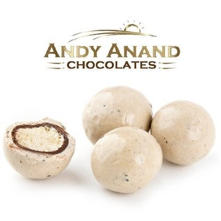 Andy Anand Chocolate Coffee Creme Malted Milk Balls Gift Boxed