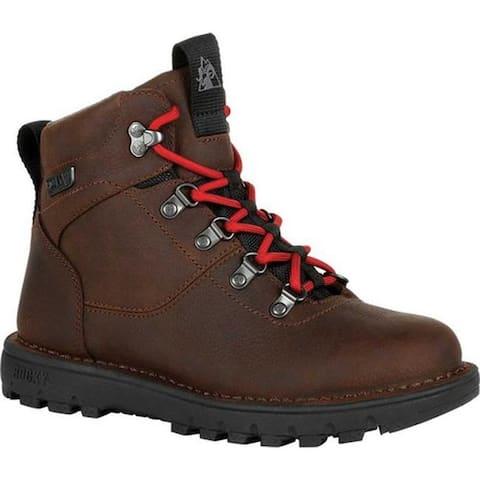 Rocky Women's Legacy 32 Outdoor Waterproof Boot RKS0446 Brown Full Grain Leather