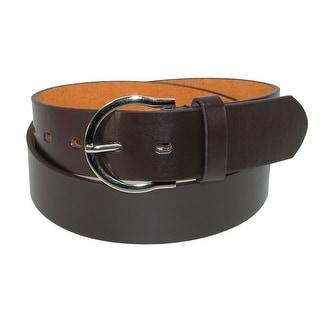 CTM® Womens Basic Bridle Belt