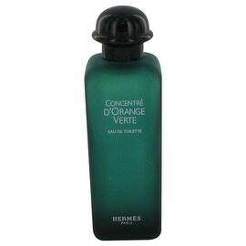 EAU D'ORANGE VERTE by Hermes Eau De Cologne Spray (Unisex Tester) 3.4 oz - Men