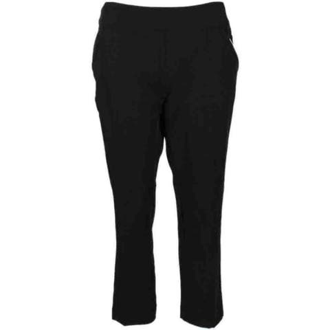 Page & Tuttle Womens Pull On Ankle Athletic Pants & Shorts Pants