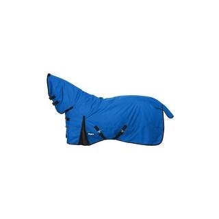 Tough-1 Blanket Turnout 1200D Poly Full Neck 75 Royal Blue
