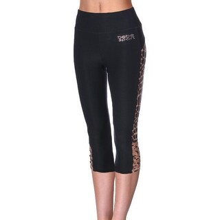 Bebe Womens Capri Pants Cut-Out Quick Dry