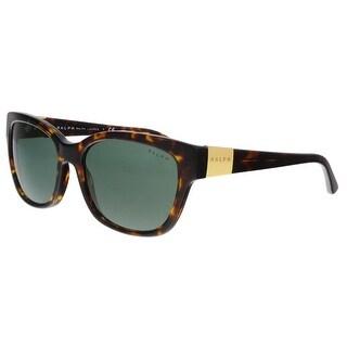 Ralph Lauren RA5208 137871 Dark Tortoise Rectangle Sunglasses - 55-17-135