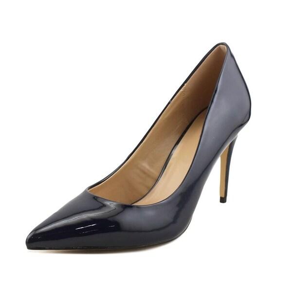 Aldo Uloaviel Women Pointed Toe Synthetic Blue Heels