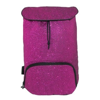 Augusta Glitter Backpack with Adjustable Straps