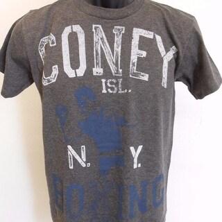 Coney Island Ny Boxing Gym Youth S Small Size 8 T-Shirt 70Zi