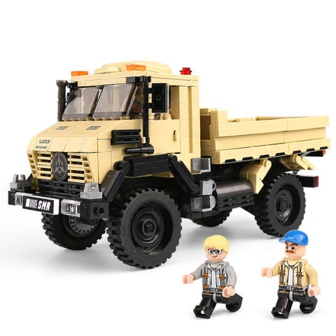 "XINGBAO 03026 Truck Building Block with Original Box - 7'6"" x 9'6"""
