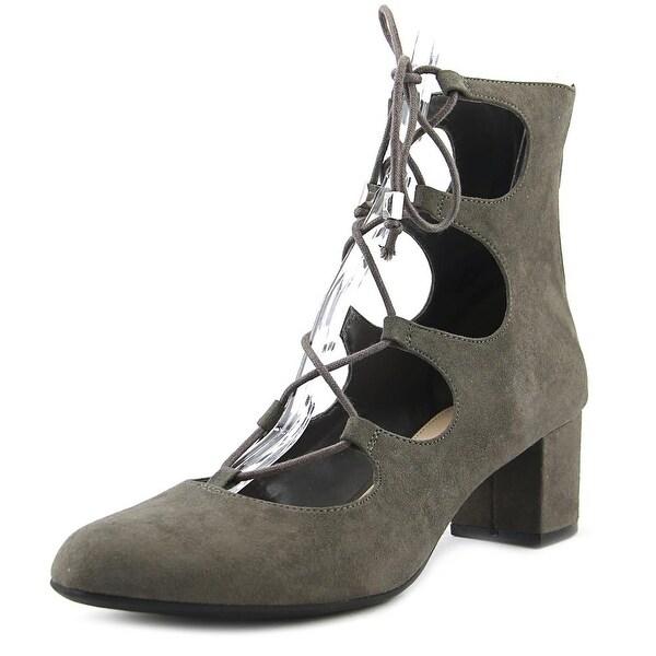 Bar III Percy Women Grey Boots