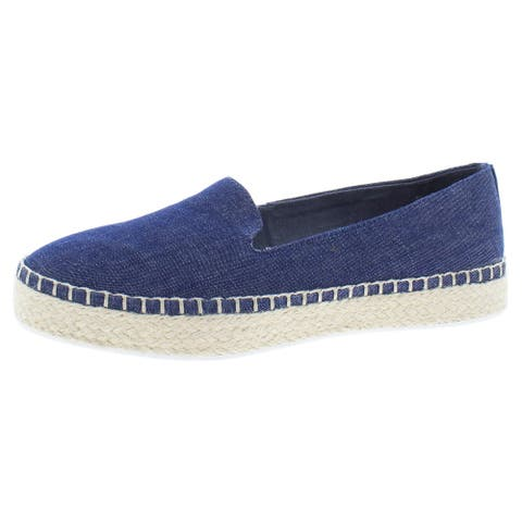 Dr. Scholl's Womens Find Me Espadrilles Padded Insole Slip On