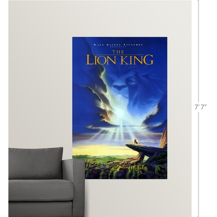 Shop The Lion King 1994 Poster Print Overstock 24136131