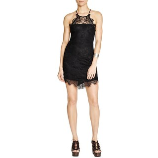 Free People Womens Juniors She's Got It Slip Dress Lace Back Buttons (2 options available)