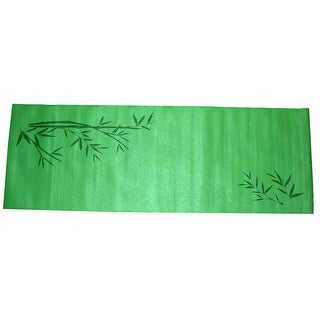 Gym Fitness Training Yoga Pilates Exercise Pad Mat Cushion Green 4mm Thickness